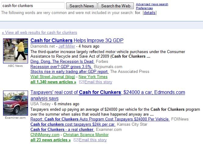 cash clunkers google