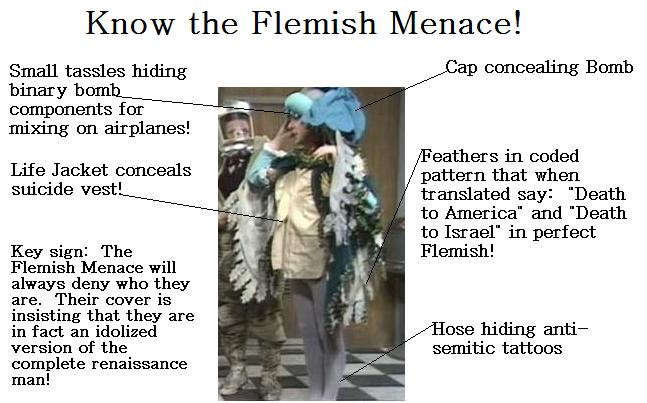 know the flemish menace