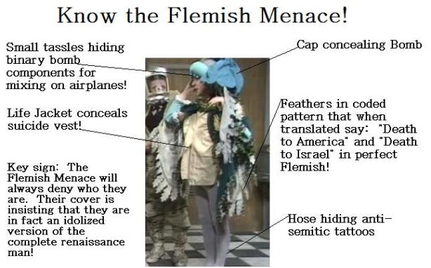 Your guide to the Flemish Menace!