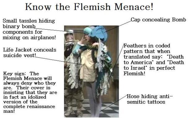know the flemish menace