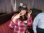 Fedoras at the bar