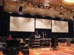 The main ballroom setup